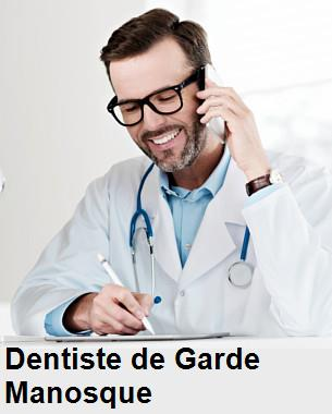 Dentiste de garde à Manosque