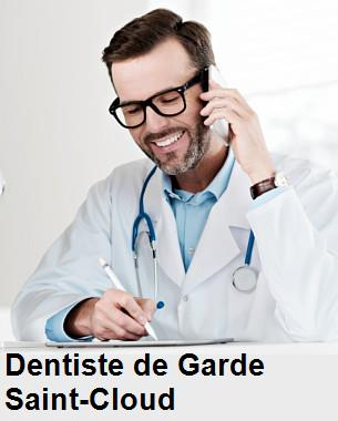 Dentiste de garde à Saint-Cloud
